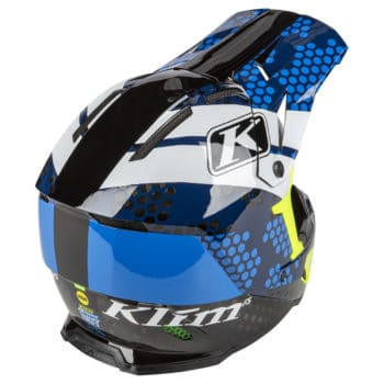 Klim F5 Koroyd Blue Back