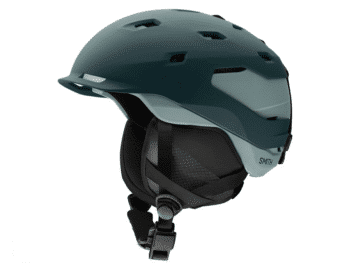 Smith Quantum Snow Helmet Matte Deep Forest - Saltwater