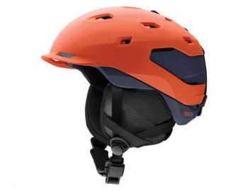 Smith Quantum Snow Helmet Matte Red Rock - Ink