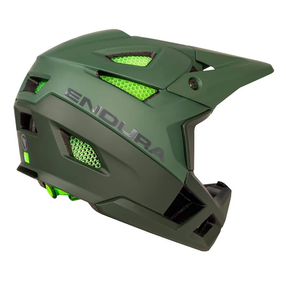 Endura MT500 Full Face MTB Helmet Rear
