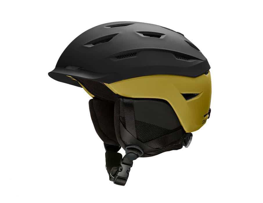 Smith Level Snow Helmet Matte Black - Mystic Green