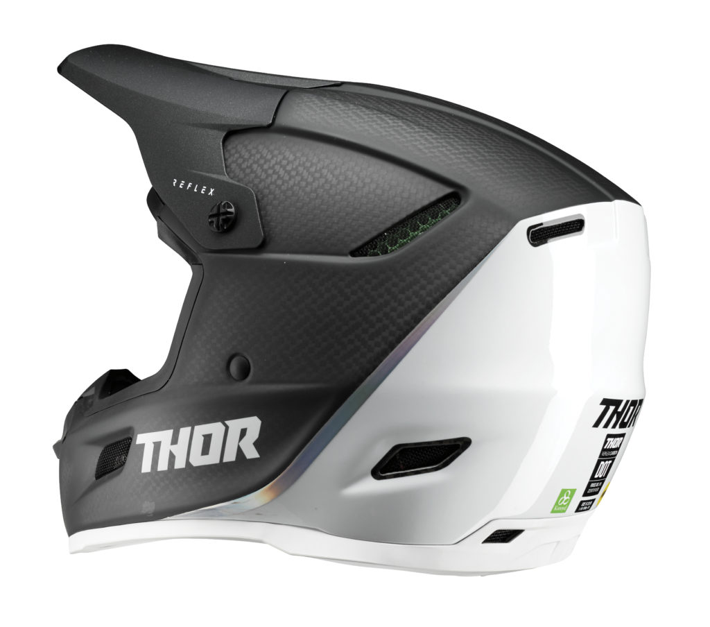 Thor Reflex Polar Carbon Left Side