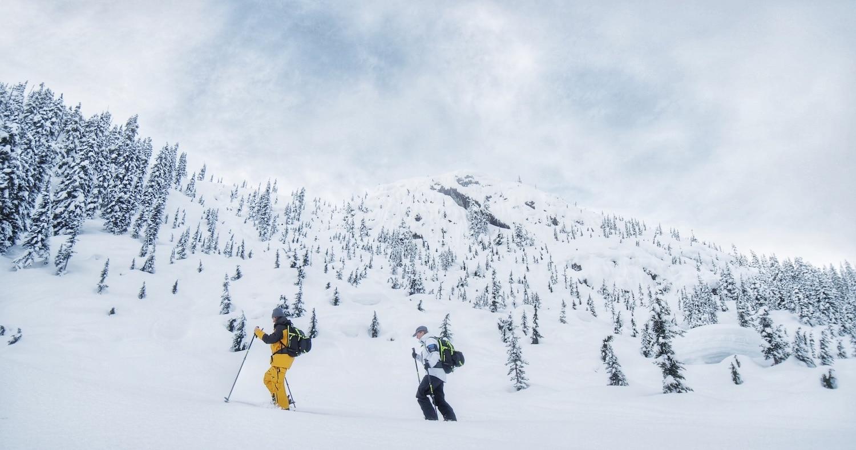 Blake Marshall BC backcountry skiing Kore Koroyd backpack